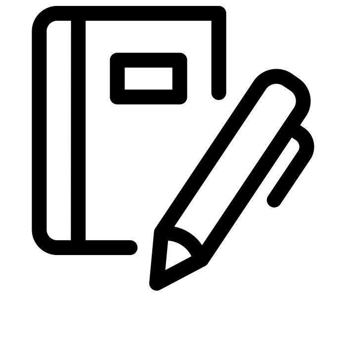 Notebook - Copyright The Noun Project - Gregor Cresnar